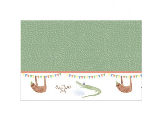 My Safari Party Plastic Tablecover