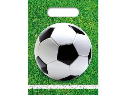 Soccer Plastic Party Bags 6/pcs