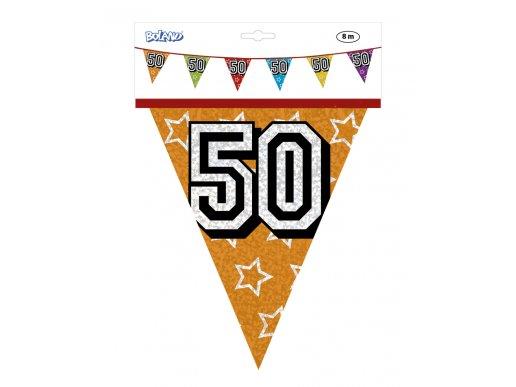 Mutlicolor Plastic Flag Bunting 50