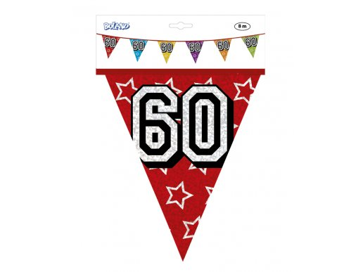 Multicolor Plastic Flag Banner 60