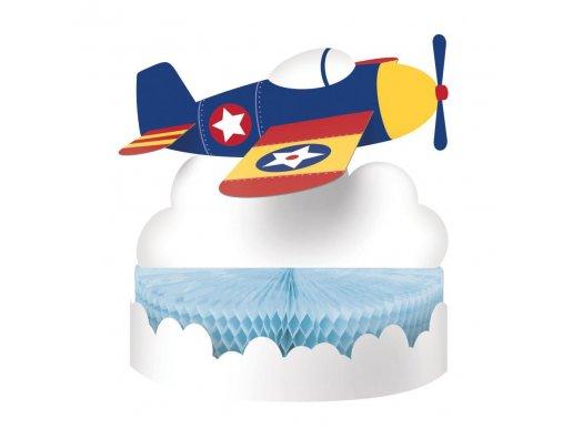 Πολύχρωμο Αεροπλάνο Διακόσμηση Για Τραπέζι