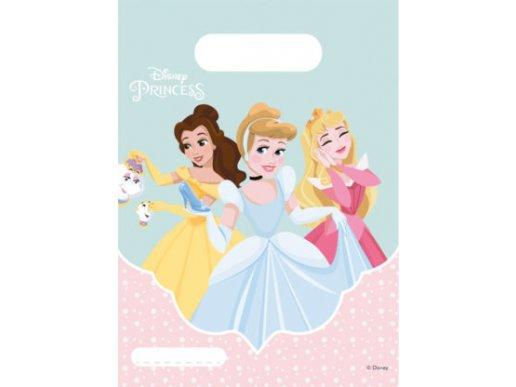 Disney Princess Dream Big Plastic Party Bags 6/pcs