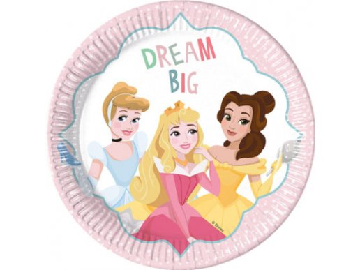 Disney Princess Dream Big Large Paper Plates 8/pcs
