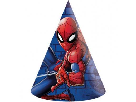 Spiderman Καπελάκια 6/Τμχ