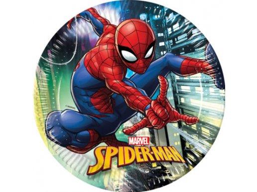 Spiderman Large Paper Plates 8/pcs