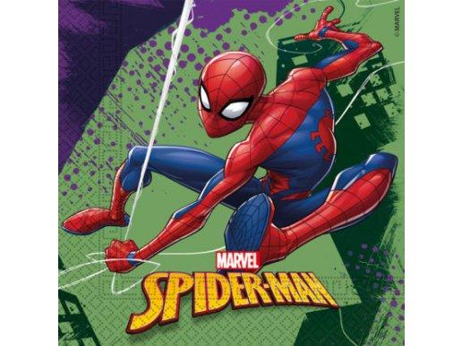 Spiderman Χαρτοπετσέτες Φαγητού 20/Τμχ