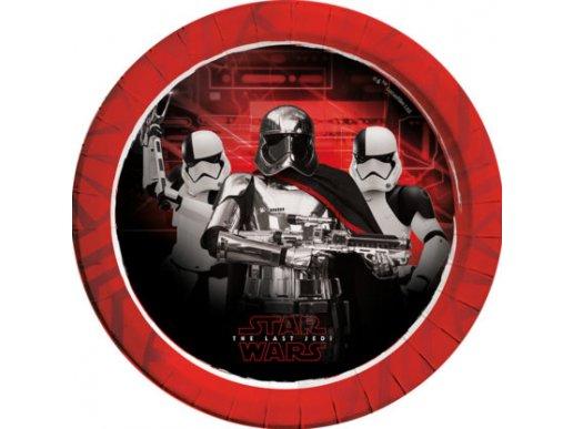 Star Wars Μεγάλα Χάρτινα Πιάτα 8/Τμχ