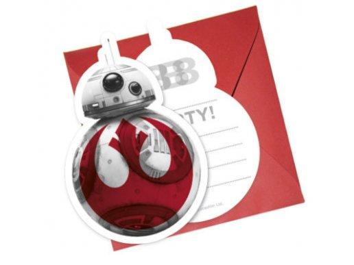 Star Wars Προσκλήσεις 6/Τμχ