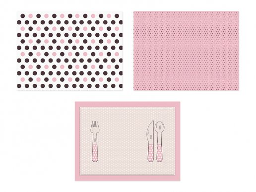 Sweets Collection placemats (6pcs)