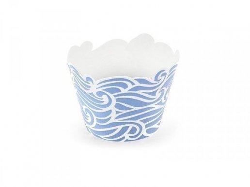Θάλασσα Περιτύλιγμα Για Cupcake (6τμχ)