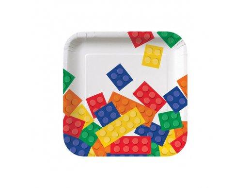 Πάρτυ Τουβλάκια Μικρά Πιάτα (8τμχ)