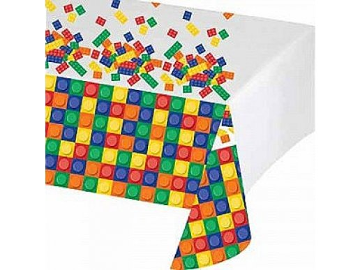 Plastic Tablecover Block Party
