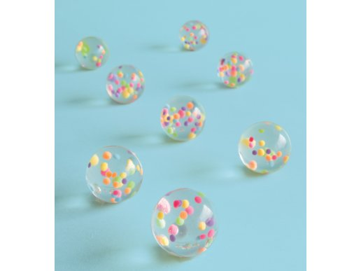 Pom Pom Bouncing Balls (8pcs)
