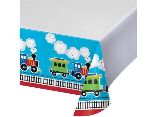 Little Train plastic tablecover