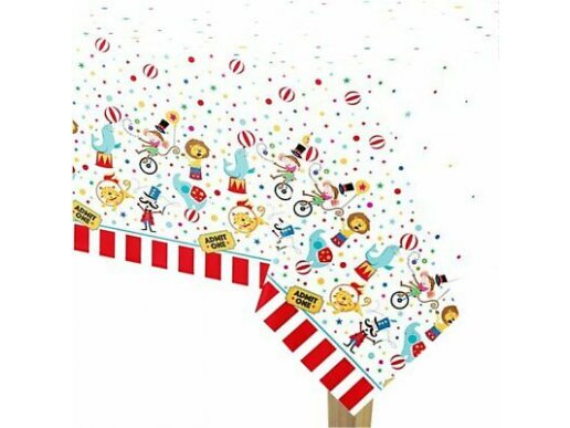 Circus Plastic TableCover