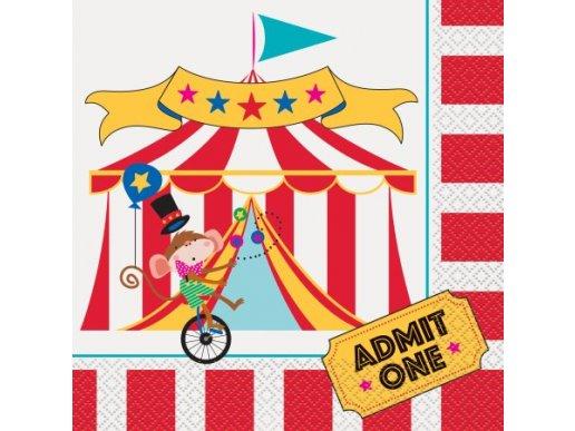 Circus Luncheon Napkins (16pcs)