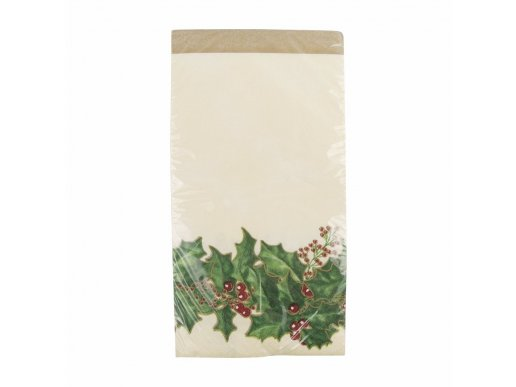 Winter Holly plastic tablecover