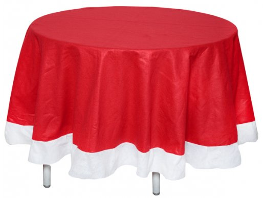 Christmas Fabric Round Tablecover