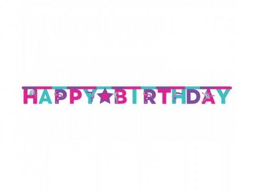 Gymnastics Happy Birthday Garland (3,04m)