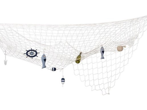 Natural Color Decorative Fishing Net (300cm x 300cm)