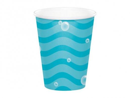 Blue Under the Sea Paper Cups (8pcs)