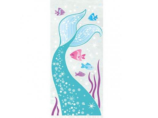 Mermaid Plastic Gift Bags (20pcs)