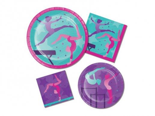 Gymnastics Paper Cups (8pcs)