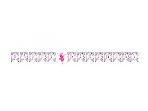 Sparkle Fairy Happy Birthday Garland (1,67m)