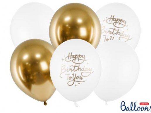 Happy Birthday to You Λάτεξ Μπαλόνια (6τμχ)