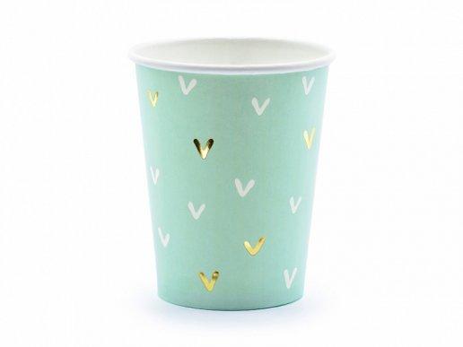 Cactus Gold Foiled Paper Cups (6pcs)