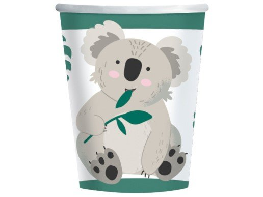 Koala Paper Cups (8pcs)