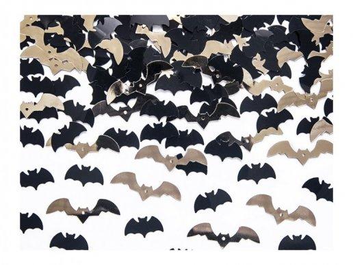Κομφετί για Το Τραπέζι Μαύρες & Χρυσές Νυχτερίδες 15γρ