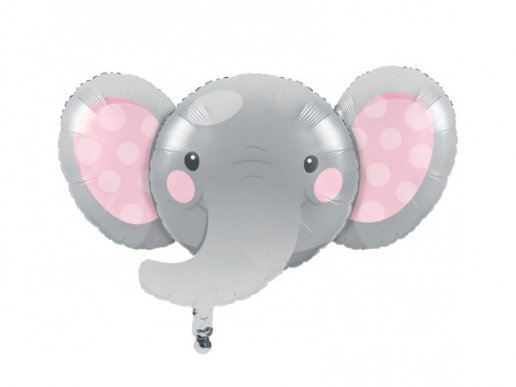Girl Elephant Supershape Balloon (62,4cm X 92,9cm)