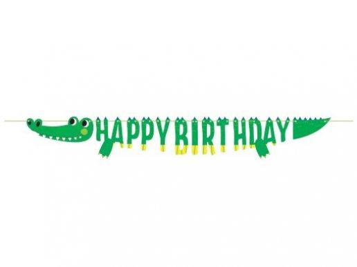 Κροκόδειλος Γιρλάντα για Γενέθλια (184εκ)