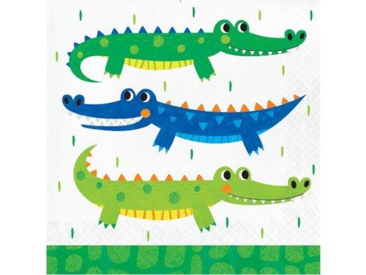 Alligator Party Luncheon Napkins (16pcs)
