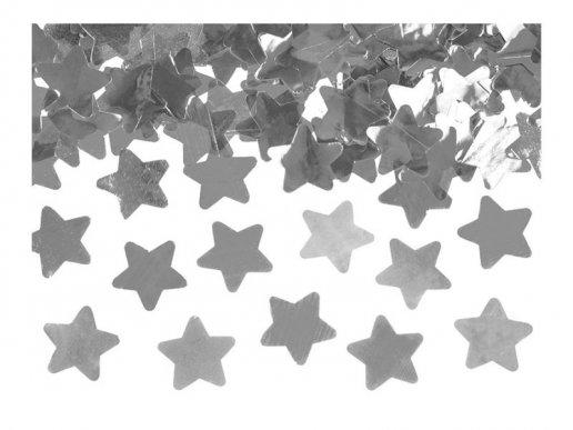 Large Size Silver Stars Party Confetti Cannon 60cm