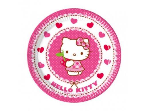 Hello Kitty Large Paper Plates (8pcs)