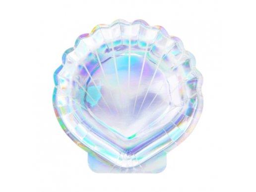 Σχήμα Κοχύλι Μικρά Πιάτα (6τμχ)