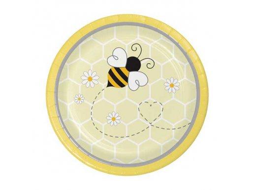 Μελισσούλα Μικρά Χάρτινα Πιάτα (8τμχ)