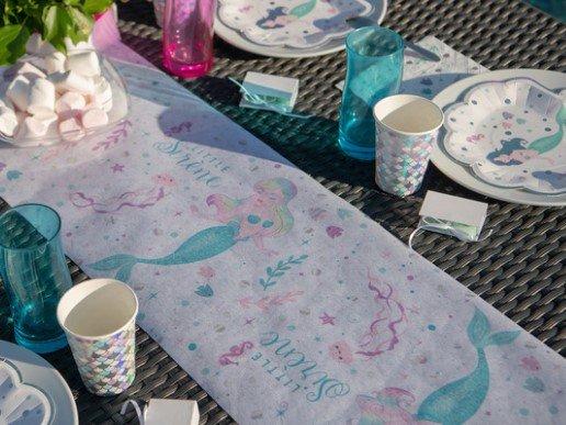 Little Mermaid Runner for the Table (30cm x 5m)