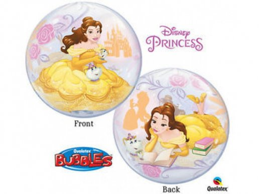 Bubble Balloon Beauty and the Beast with Belle (56cm)