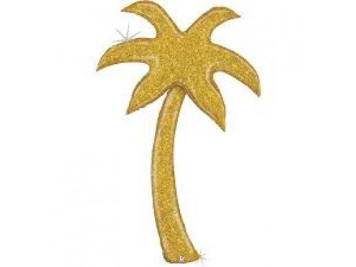 Palm Tree Gold Balloon Supershape (150cm)