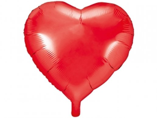 Κόκκινη Καρδιά Μπαλόνι Foil (61εκ)
