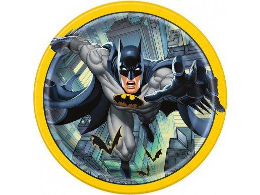 Batman Large paper Plates 8/pcs