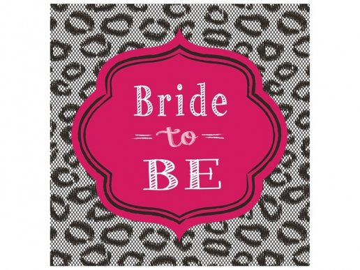 Χαρτοπετσέτες Φαγητού Bride to Be (16τμχ)