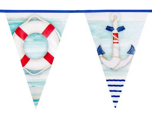 Ναυτικό Θέμα Γιρλάντα Σημαιάκια (6μ)