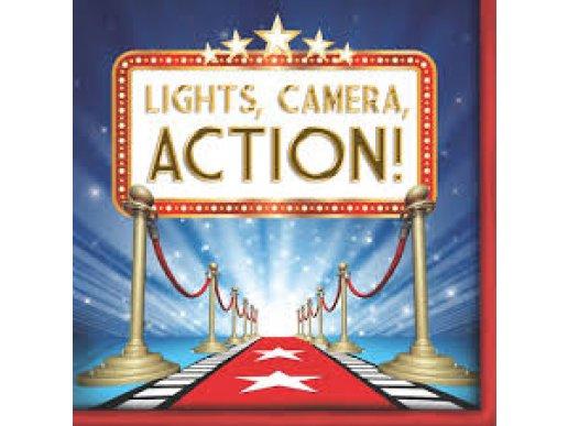 Χαρτοπετσέτες Hollywood Lights 16/Τμχ