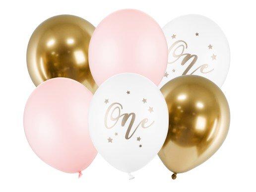 Νούμερο 1 Κορίτσι Λάτεξ Μπαλόνια (6τμχ)