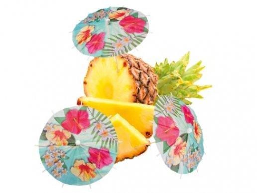 Pineapple Paradise Decorative Picks (6pcs)