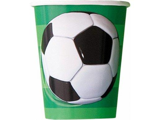 Ποδόσφαιρο Ποτήρια Χάρτινα (8τμχ)